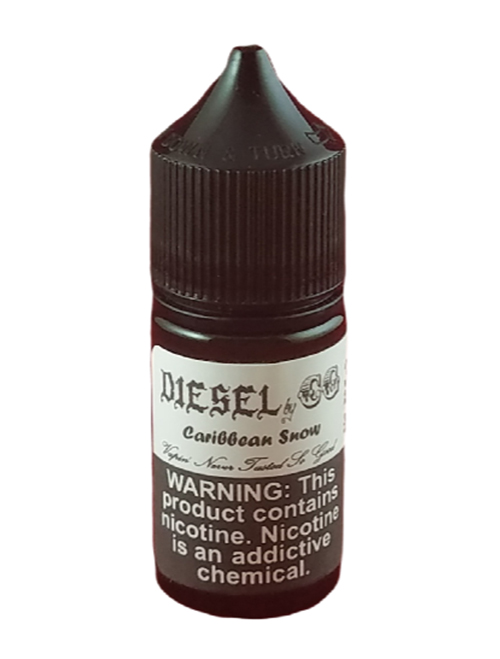 Sameday Delivery | Caribbean Snow - Diesel - 30mL Ejuice