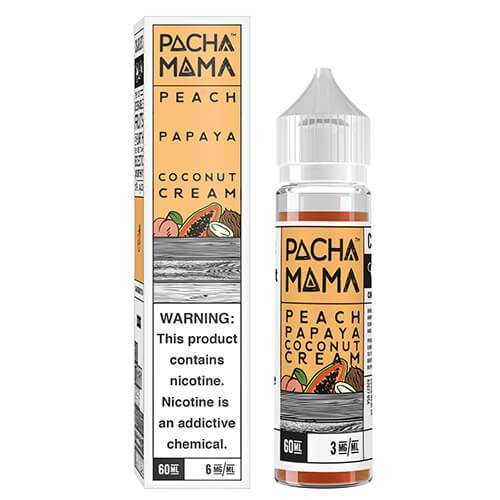 Same day Delivery | PEACH PAPAYA COCONUT CREAM 60ml - Online vapestore