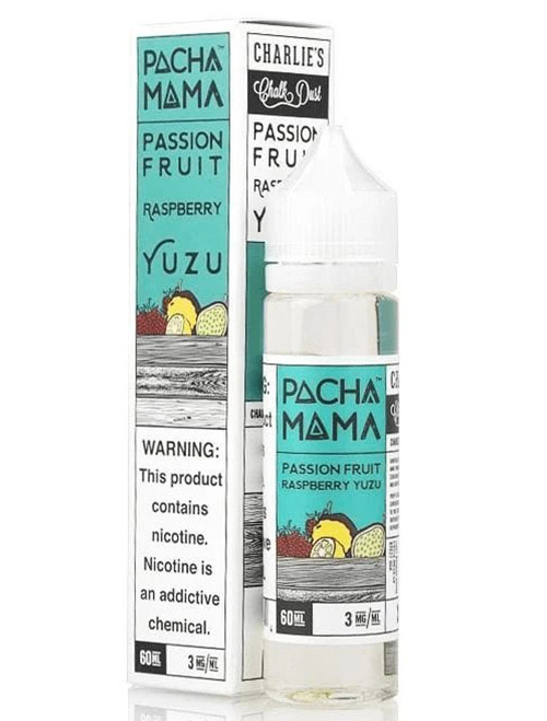 Same day Delivery | Pacha Mama Passion Fruit Raspberry Yuzu 60ml- Online vapestore