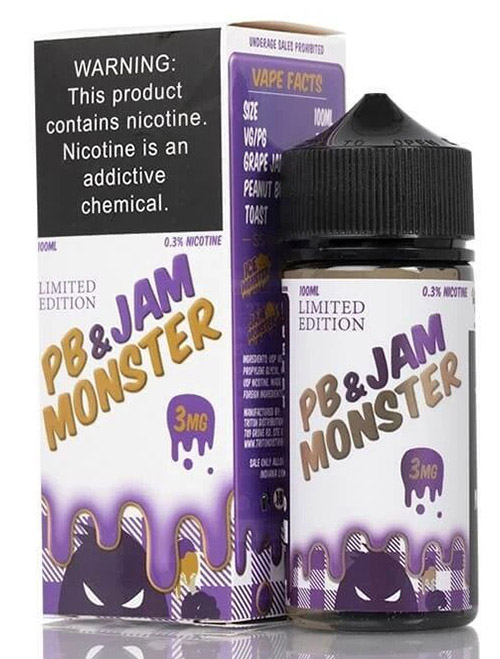 Sameday Delivery| jam monster pb&j online vapestore