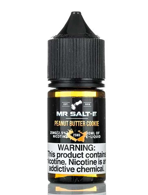Sameday Delivery | Mr.Salt-E peanut butter cookie Salt 30ml