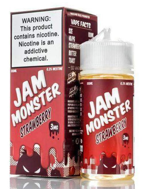 Sameday Delivery| Jam Monster- strawberry online vapestore