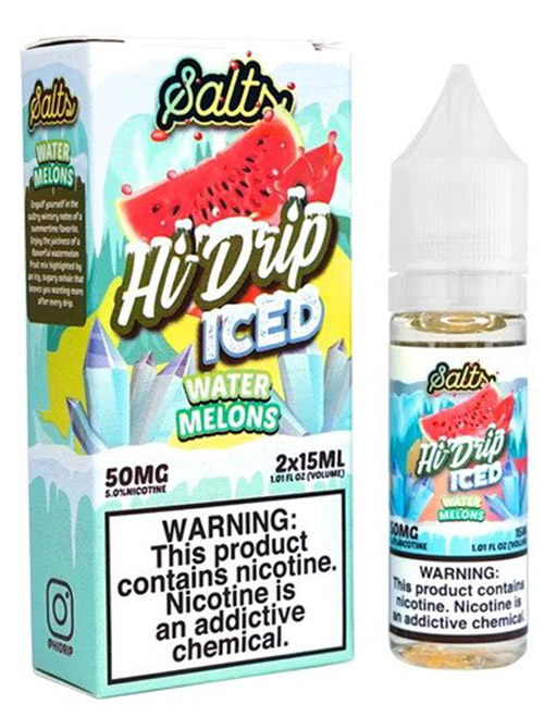 Sameday Delivery | Hi- Drip - Watermelons Ice Salt 100mL Ejuice