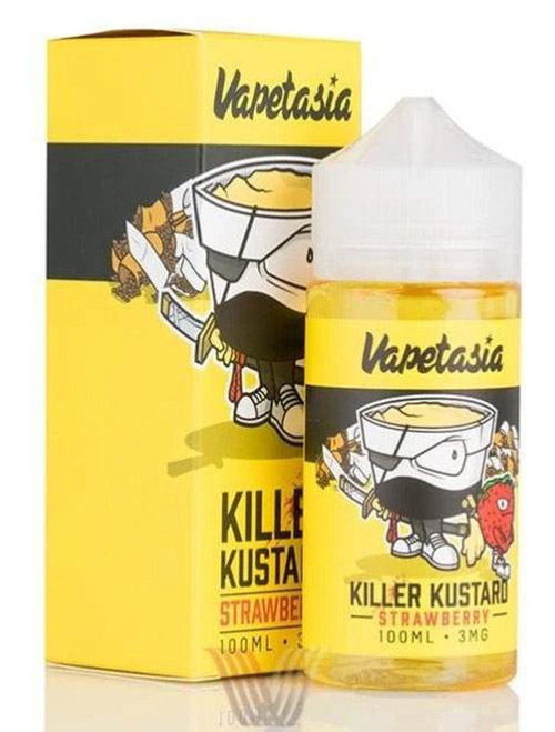 Sameday Delivery| Killer Kustard Strawberry 100ml-online vapestore