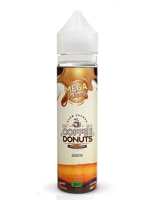 Same day Delivery | MEGA ELIQUIDS coffee donuts vapestore