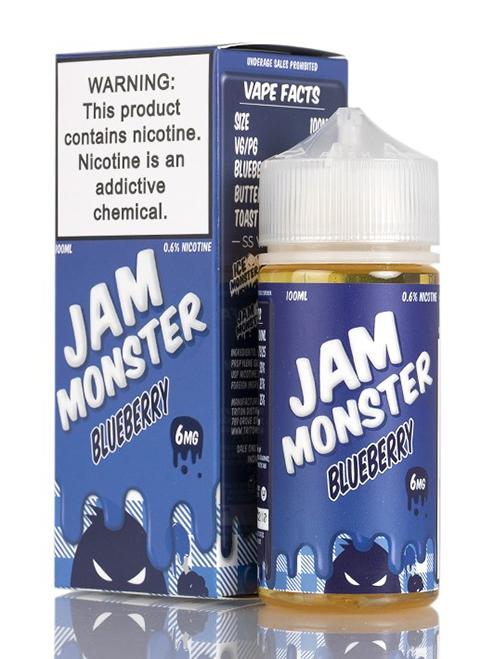 Sameday Delivery| Jam-Monster-Blueberry- online vapestore