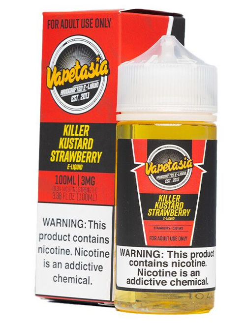Killer Kustard Strawberry - Eliquid 100ml