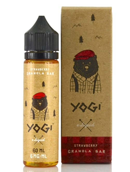 Same day Delivery | Yogi-Eliquid granola Bar 60ml - Online vapestore
