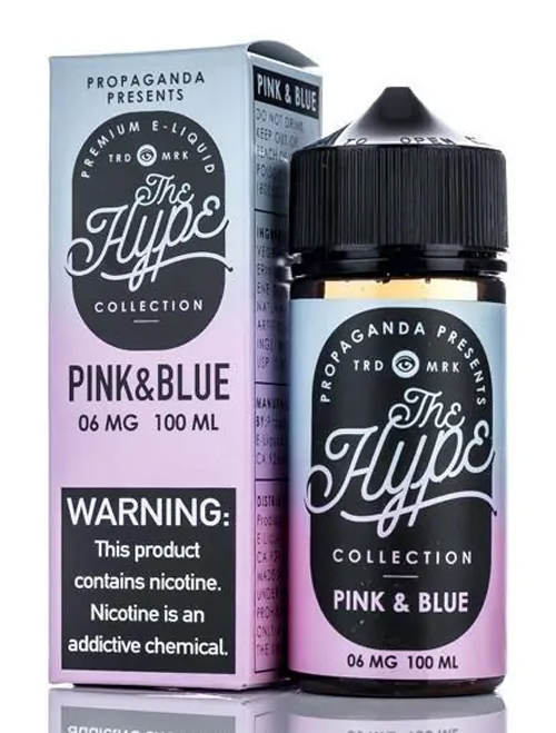the hype - pink an Blue