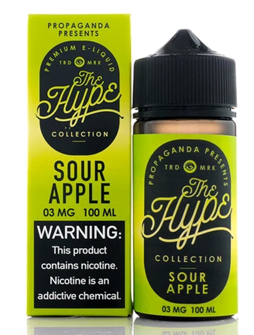 Same day Delivery | the hype sour apple - Online vapestore